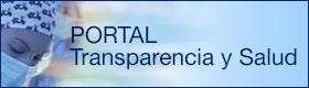 Banner Portal de Transparencia y Salud