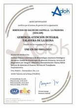certificado iso talavera
