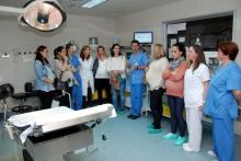 El Hospital de Talavera incluye visitas de acogida a la zona de paritorios para las mujeres que se preparan para el parto